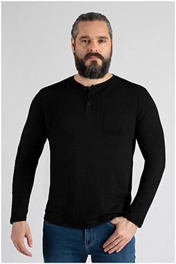 Sport, Camisetas M. Larga, 109827, NEGRO