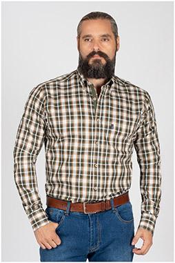 Camisas, Sport Manga Larga, 109839, CAZA