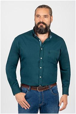 Camisas, Sport Manga Larga, 109846, CAZA