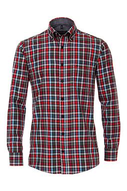 Camisas, Sport Manga Larga, 109864, GRANATE