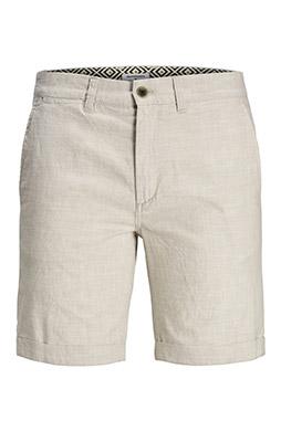 Pantalones, Bermudas, 109946, BEIGE
