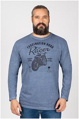 Sport, Camisetas M. Larga, 109951, INDIGO