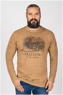 Sport, Camisetas M. Larga, 109951, COBRE