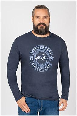 Sport, Camisetas M. Larga, 109953, INDIGO