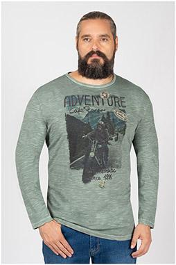 Sport, Camisetas M. Larga, 110031, VERDE