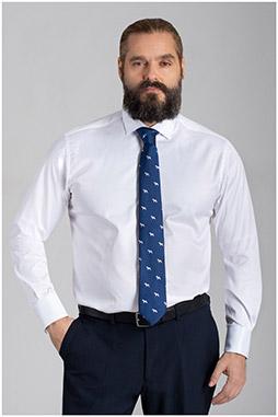 Camisas, Vestir Manga Larga, 110054, BLANCO
