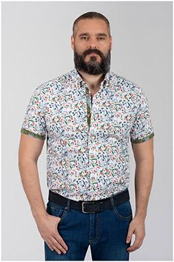 Camisas, Sport Manga Corta, 110067, VERDE