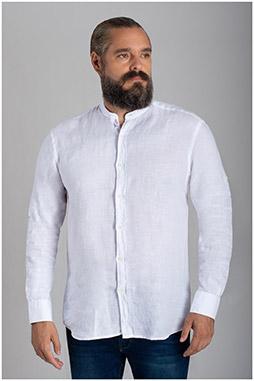 Camisas, Sport Manga Larga, 110072, BLANCO