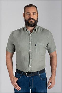 Camisas, Sport Manga Corta, 110073, VERDE