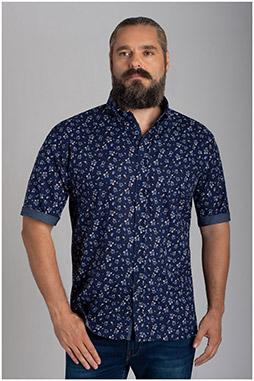 Camisas, Sport Manga Corta, 110155, MARINO
