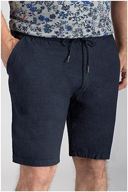 Pantalones, Bermudas, 110162, MARINO