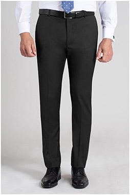 Pantalones, Vestir, 110166, NEGRO