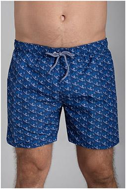 Pantalones, Bañadores, 110181, MARINO