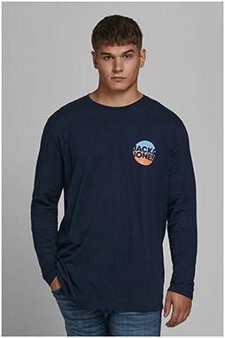 Sport, Camisetas M. Larga, 110226, MARINO