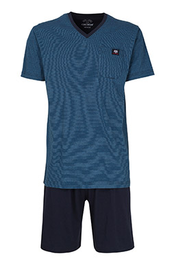 Homewear, Pijama M. Corta, 110260, AZUL
