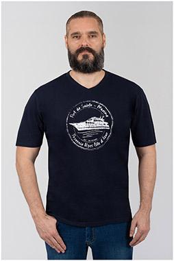 Sport, Camisetas M. Corta, 110276, MARINO