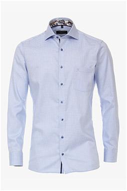 Camisas, Vestir Manga Larga, 110307, CELESTE