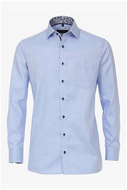 Camisas, Vestir Manga Larga, 110308, CELESTE