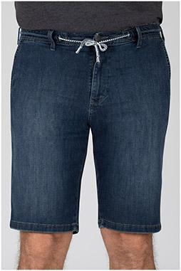Pantalones, Bermudas, 110317, AZUL OSCURO