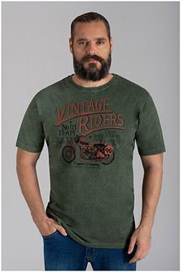 Sport, Camisetas M. Corta, 110325, KAKI