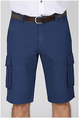 Pantalones, Bermudas, 110356, MARINO