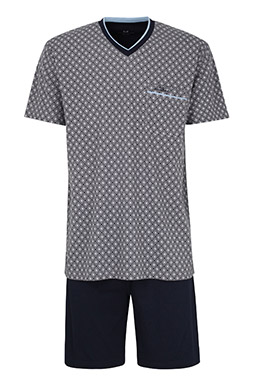Homewear, Pijama M. Corta, 110377, GRIS MEDIO