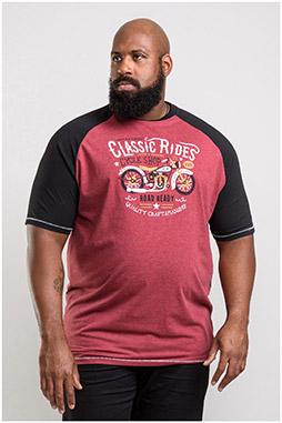 Sport, Camisetas M. Corta, 110417, GRANATE