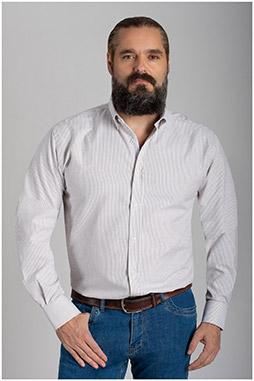 Camisas, Sport Manga Larga, 110421, VERDE