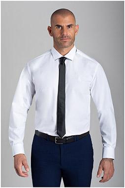 Camisas, Vestir Manga Larga, 110482, BLANCO