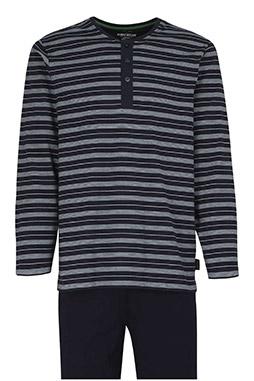 Homewear, Pijama M. Larga, 110536, VERDE
