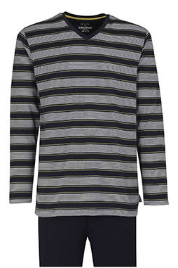 Homewear, Pijama M. Larga, 110537, MARINO