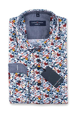 Camisas, Sport Manga Larga, 110545, MARINO