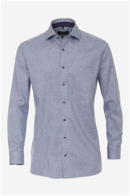 Camisas, Vestir Manga Larga, 110554, CELESTE