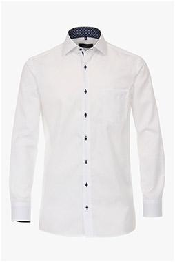 Camisas, Vestir Manga Larga, 110556, BLANCO