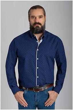 Camisas, Sport Manga Larga, 110559, MARINO