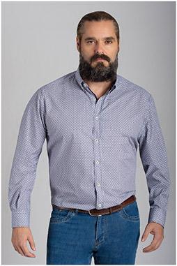 Camisas, Sport Manga Larga, 110561, BEIGE