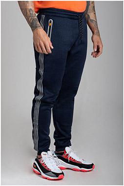 Pantalones, Chandal, 110589, MARINO