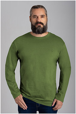 Sport, Camisetas M. Larga, 110593, KAKI