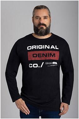 Sport, Camisetas M. Larga, 110595, NEGRO