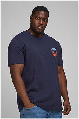 Sport, Camisetas M. Corta, 110638, MARINO