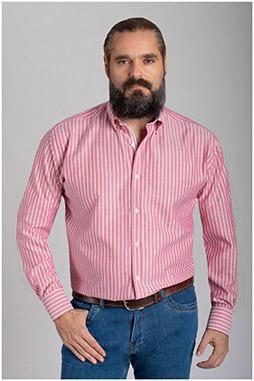 Camisas, Sport Manga Larga, 110639, GRANATE