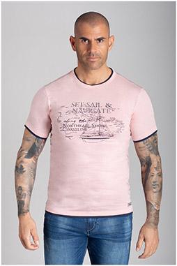 Sport, Camisetas M. Corta, 110727, MARINO