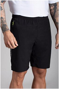Pantalones, Bermudas, 110732, NEGRO