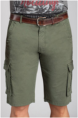 Pantalones, Bermudas, 110734, KAKI