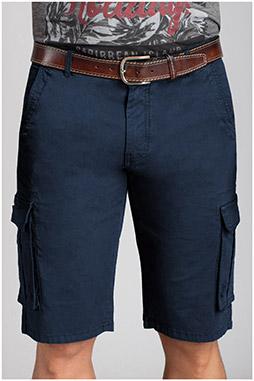 Pantalones, Bermudas, 110734, MARINO