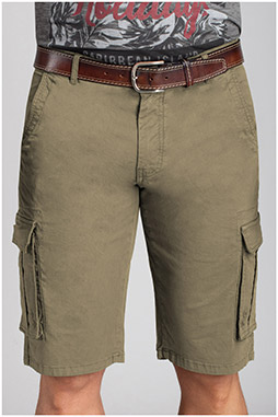 Pantalones, Bermudas, 110734, BEIGE