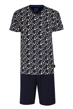 Homewear, Pijama M. Corta, 110825, MARINO