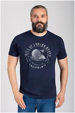 Sport, Camisetas M. Corta, 110847, MARINO