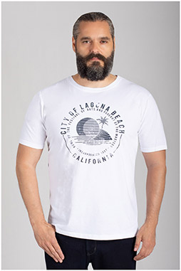 Sport, Camisetas M. Corta, 110847, BLANCO