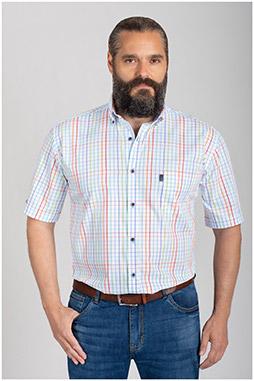 Camisas, Sport Manga Corta, 110849, MARINO